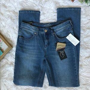 DIANE GILMAN | Classic lux Denim Jeans (NWT)